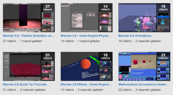 Collection of 200 Videotutorials videotutorials