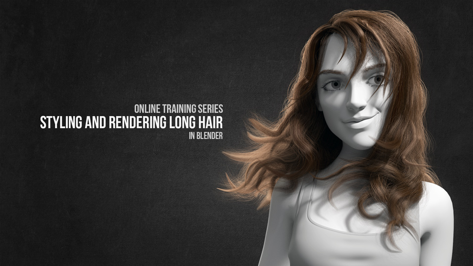 Styling and Rendering Realistic Hair with Blender and