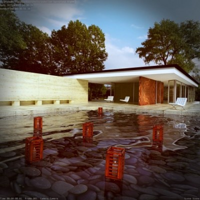 free-download-Barcelona-Pavilion-Mies-van-der-Rohe