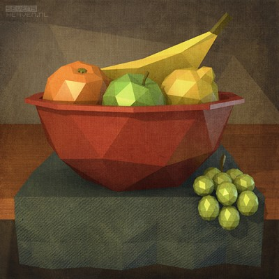 low-polygon-artwork_still-life-stilleven-fruit-basket-mand