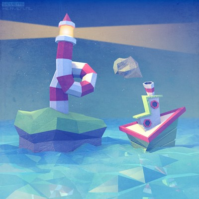 sevensheaven_ship-sea-low-poly-artwork-lighthouse