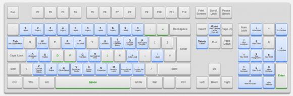 blender keyboard reference