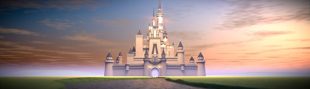 Disney Castle - BlenderNation