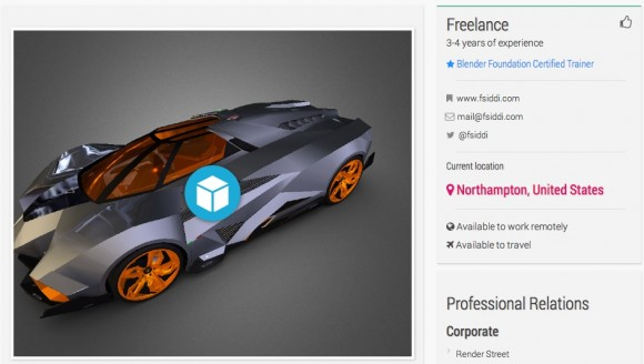 Blender Network Now Supports Sketchfab Embedding 3d news