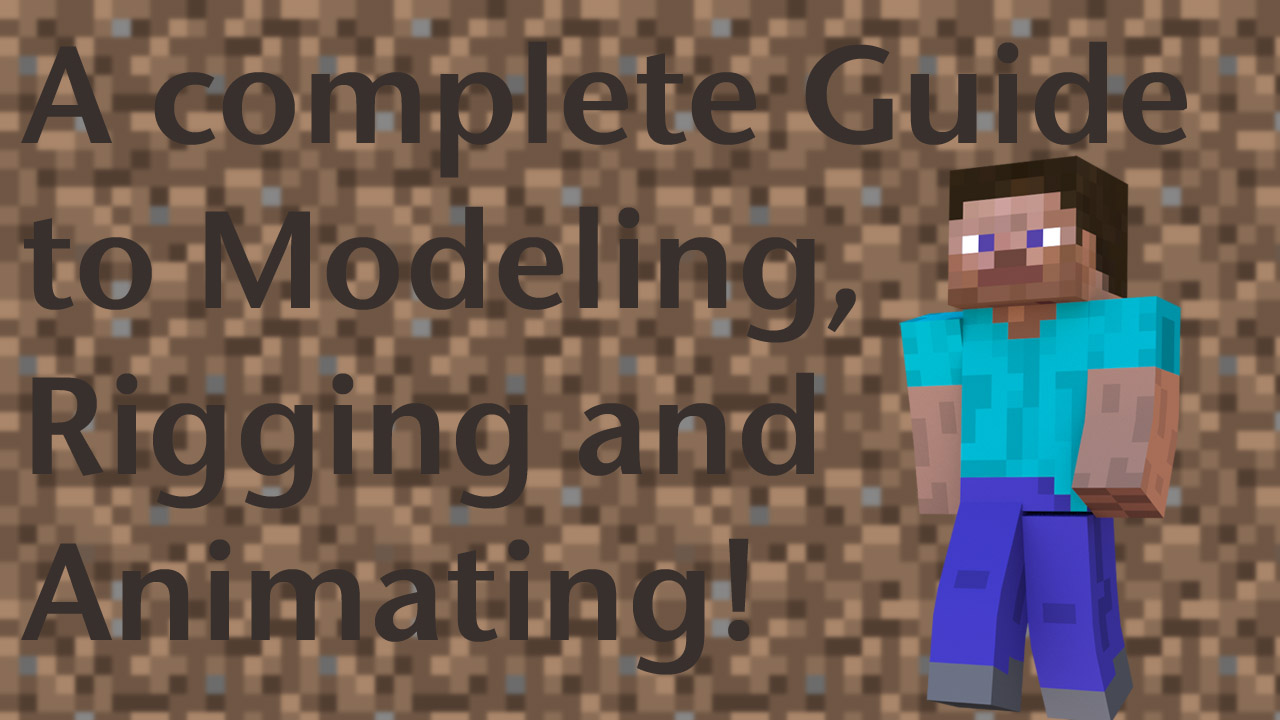 Minecraft character series a complete guide blendernation minecraft character series a complete guide ccuart Images