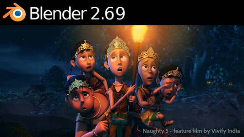Blender 2.69 Released blender development