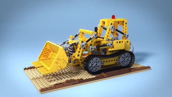 Lego_Bulldozer