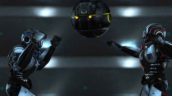 Video: Robot Fight video art
