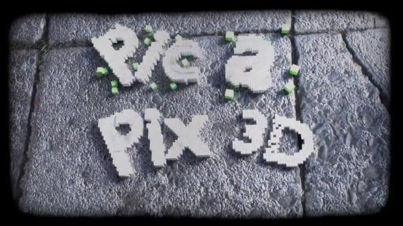 Pic a Pix 3D games