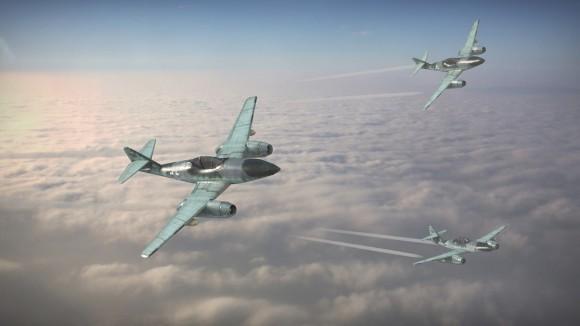 21 - Prashant Kumar - Messerschmit Me 262 (above the clouds)