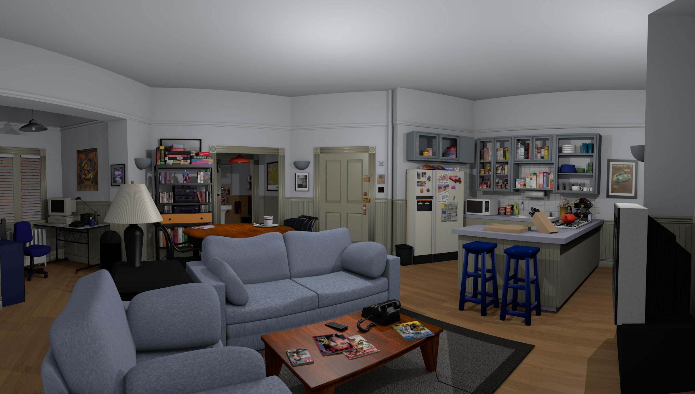 TV Shows By Living Room Quiz By Zippleton - Living room shows