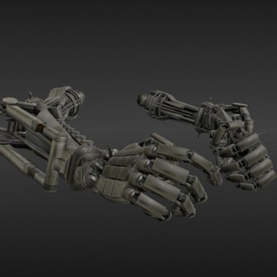 Rigged-Robot-Arms