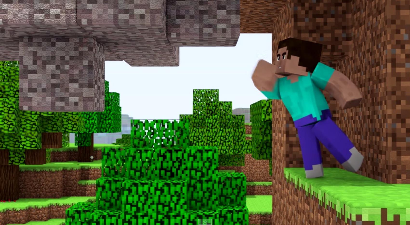 Animations Minecraft - BlenderNation