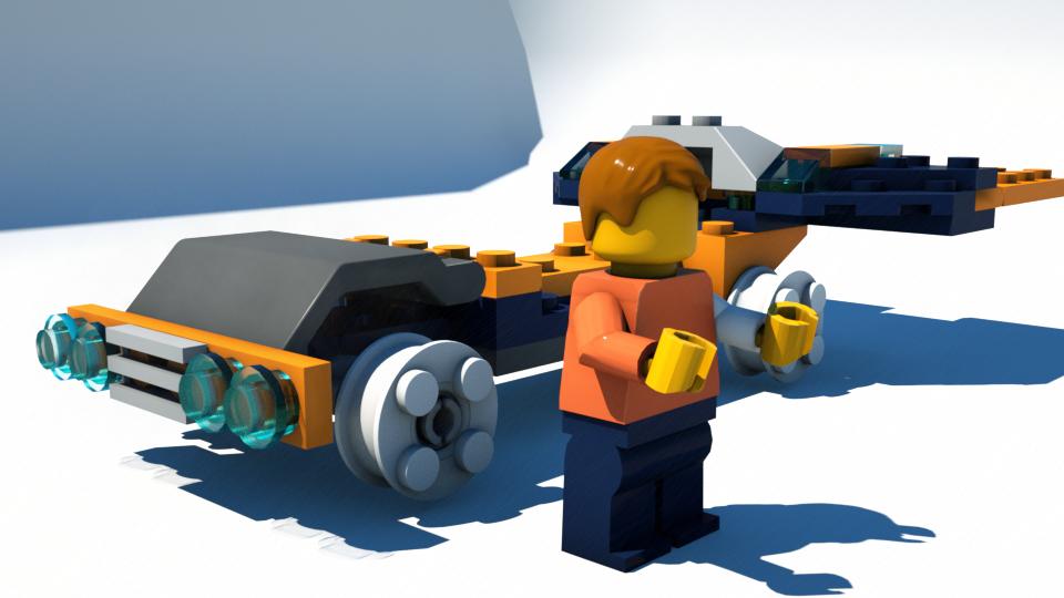 Importing Lego Models Into Blender Blendernation