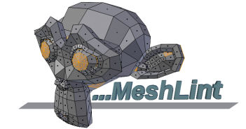 Scripts-Modeling-MeshLint-logo-suzanne