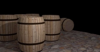 creating a barrel in Blender