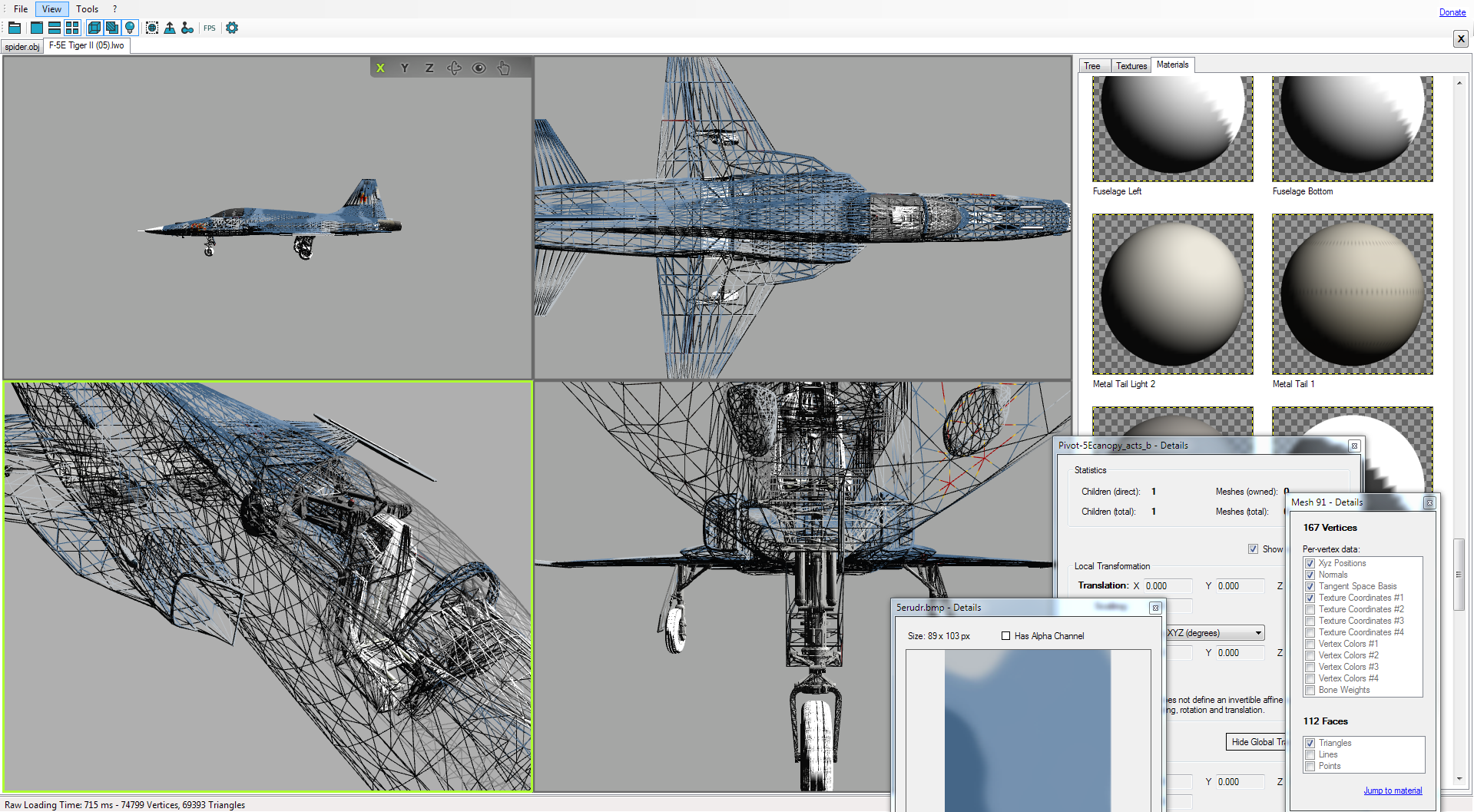 Non Blender Open 3d Model Viewer Supports 40 File