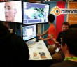 Blender booth SIGGRAPH 2014