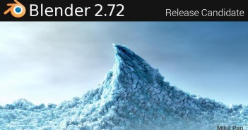 Blender 2.72 Splash