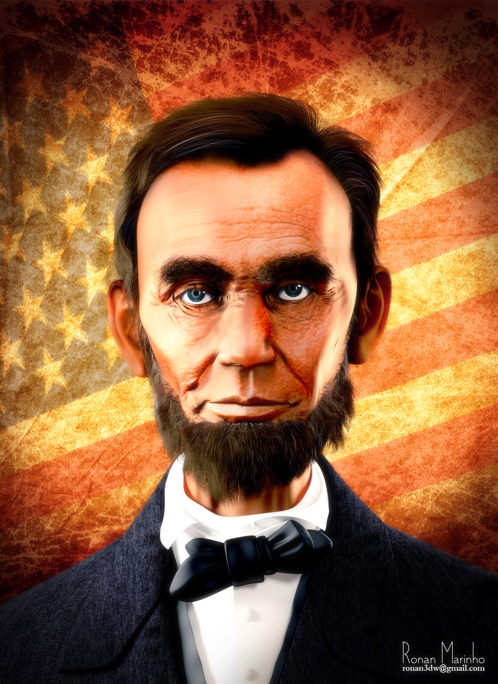Abraham Lincoln Blendernation