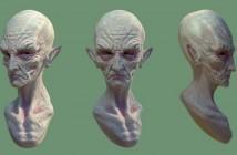 Jordu Schell's 50s alien