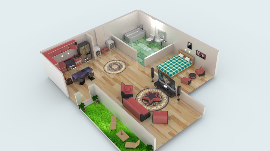 Free D Models Home Design