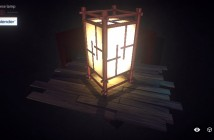 Japanese Lamp