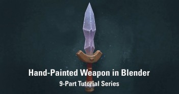 Hand-Painted_Weapon_in_Blender