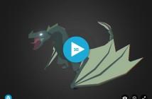 low poly drake