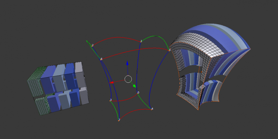 how to add vertices blender