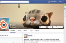 Blender Facebook