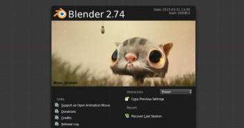 blender 2.74 new features