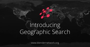 blender network geographic search