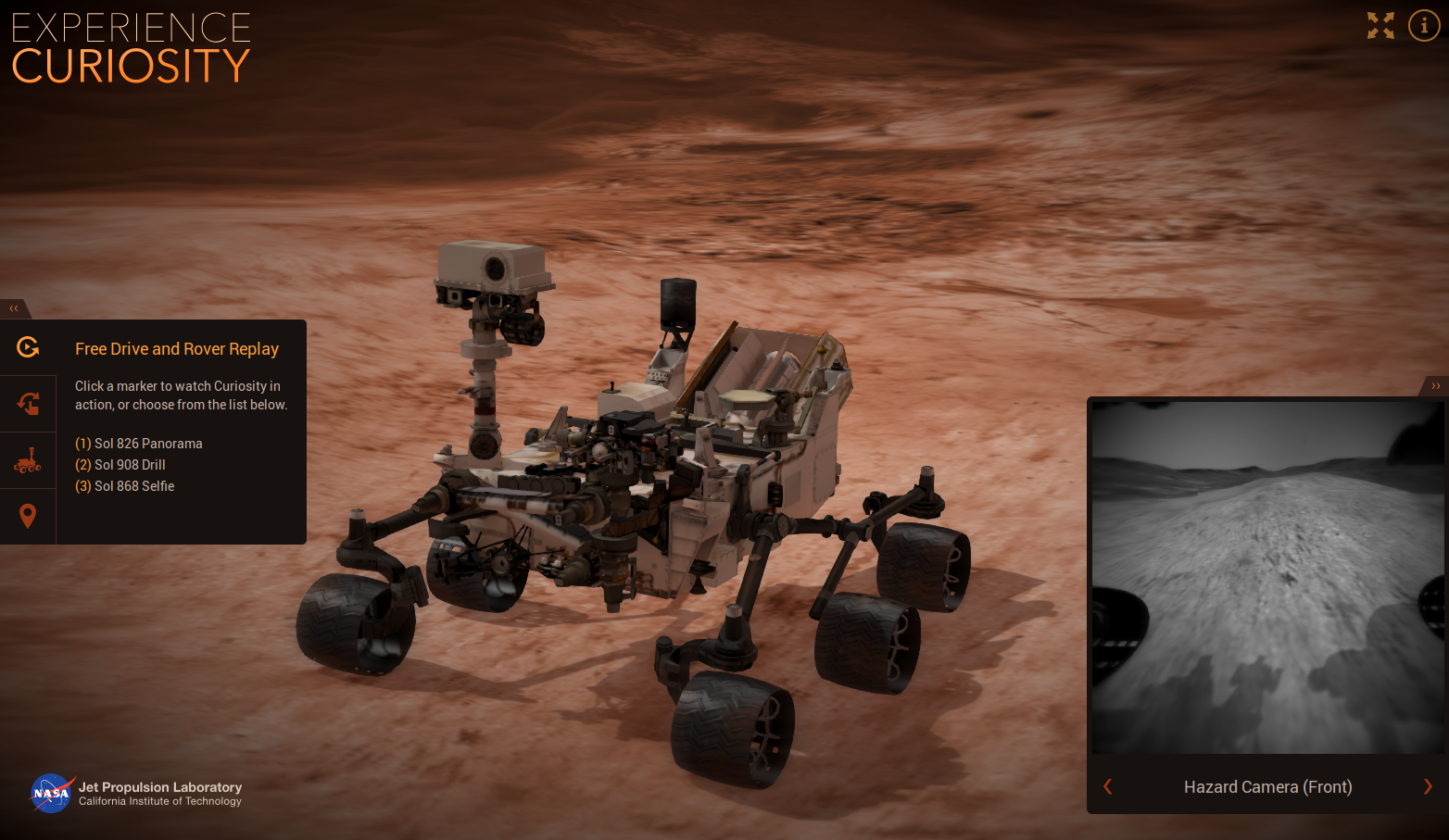 NASA uses Blender and Blend4Web on their new Curiosity ...