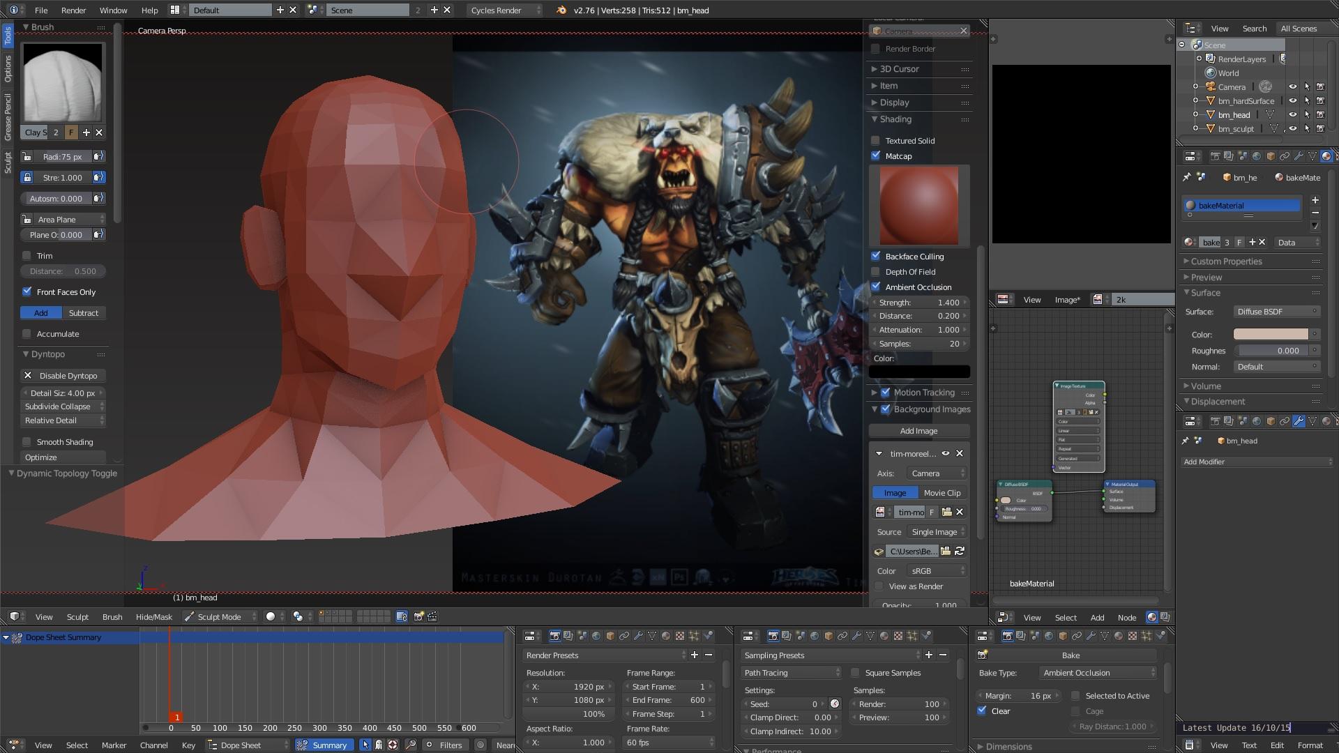 Dark Blender Official Thread 39 Optimised For Sculpting