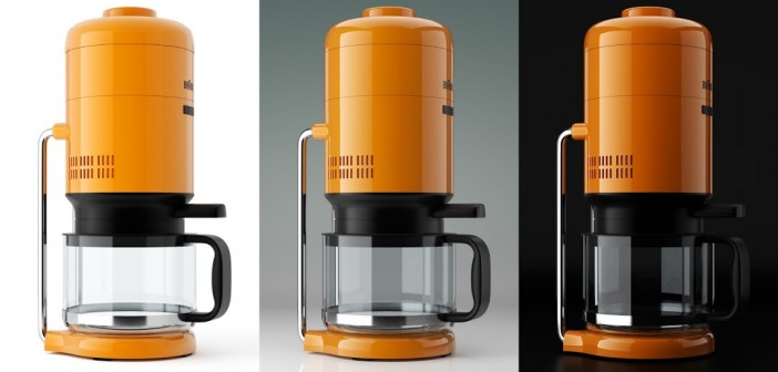 Tutorial: Braun KS 20 coffee maker industrial design - BlenderNation