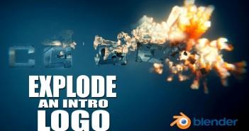 explode a logo in 3d