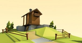 lowpoly house tutorial