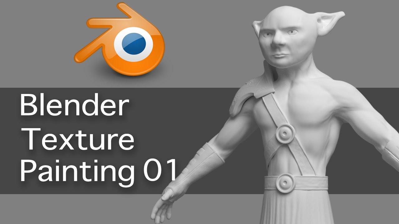 Blender Character Modeling For Games : Blender game character texture painting blendernation