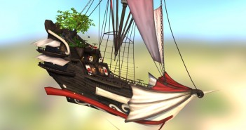 Flying galeon