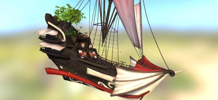 Flying galeon