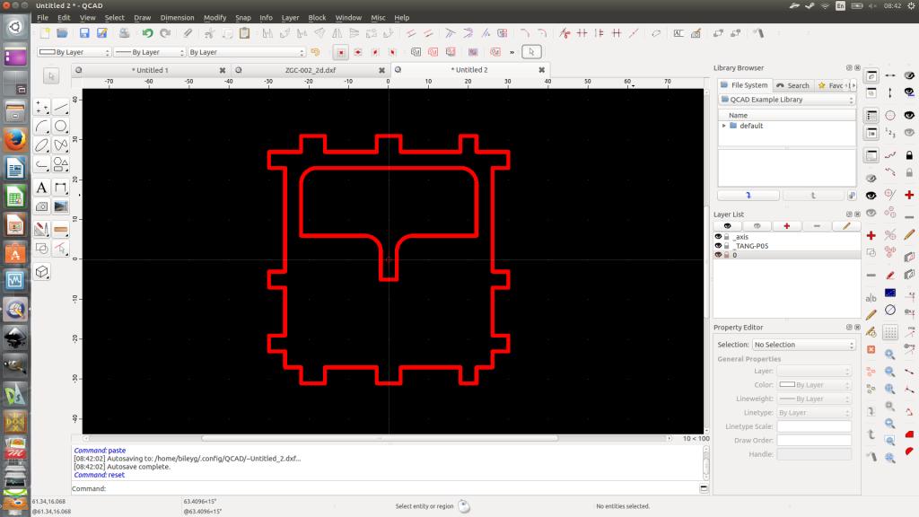 Cada detalhe tem um arquivo .dxf individual deito com o QCAD.