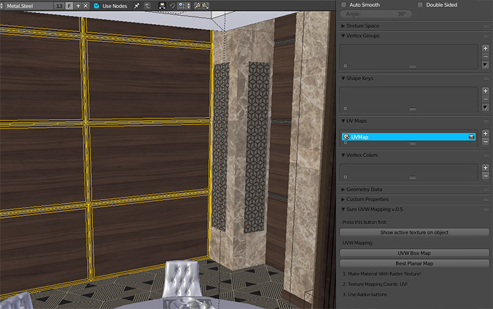 """Sure UV Mapping"" in action"