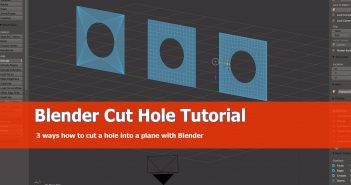 Blender_Cut_Hole_Plane_Tutorial