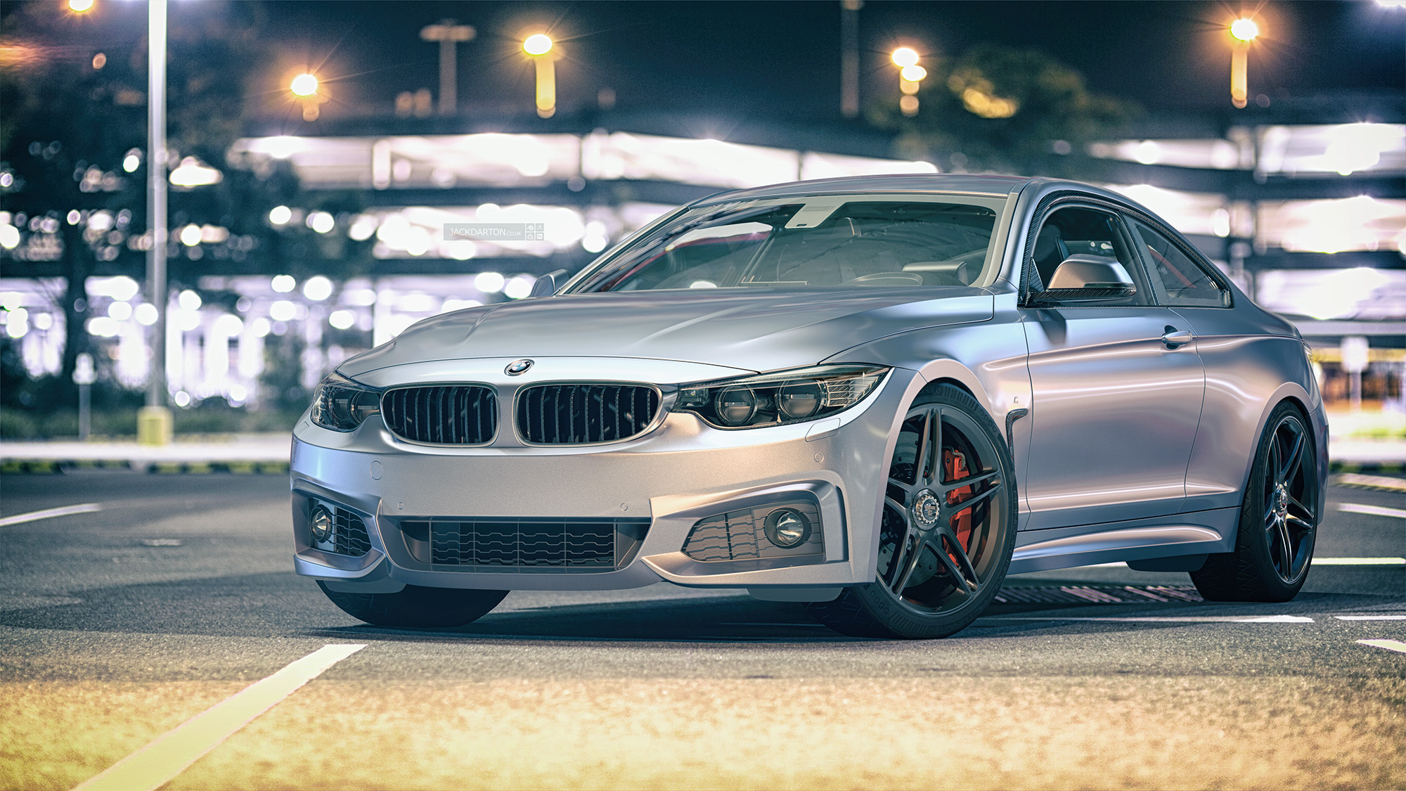 bmw 4 series m sport by jackdarton blendernation. Black Bedroom Furniture Sets. Home Design Ideas
