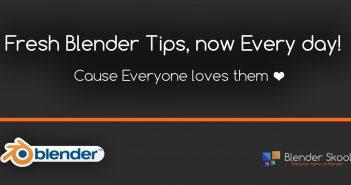 blender skool tips