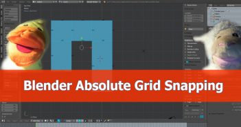 Blender_Snapping_Grid_Absolute