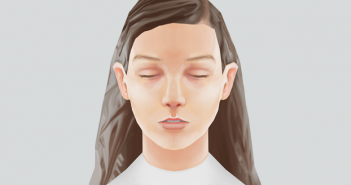 low-poly-portrait