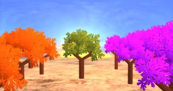 low-poly-shaded-trees