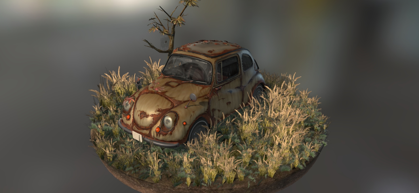 My favourite Blender Art on Sketchfab this week